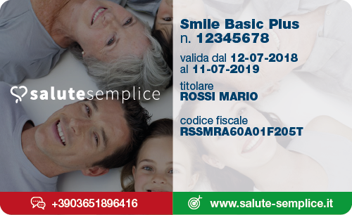 Smile Basic Plus Card