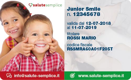Junior Smile Card
