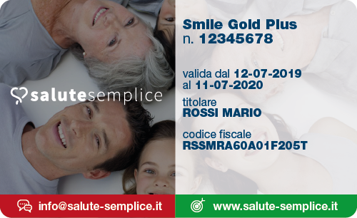 Smile Gold Plus Card